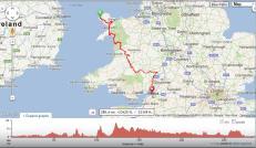 The Lon Las Cymru with a slight Detour to Ledbury