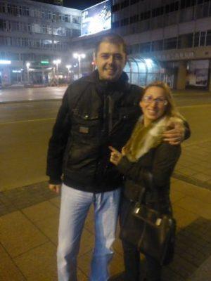 Milos and Jelena