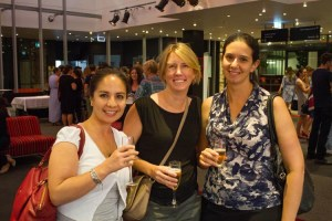 Zara Henry, Penny Chalmers, Anika Claire at the BWF event. Photo by Daniel Seed.