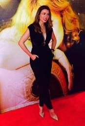 Danni Minogue on the red carpet