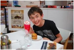 The award-winning milkshake in Longreach