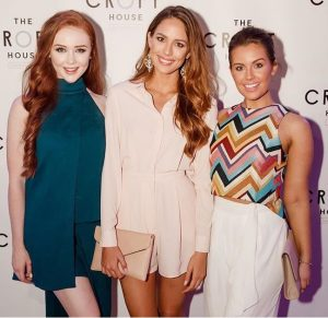 Tess Alexander, Madeline Cowe, Courtney Thorpe