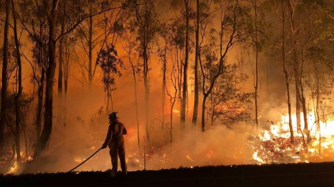 The fire emergency facing Queensland is still not over and won't be for weeks, according to the Acting Fire Commissioner
