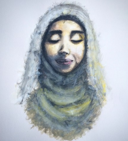Image of a woman wearing Hijab by Roszeen Afsar