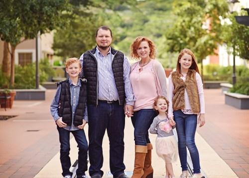 Jill Clark & family | ShesSoSmitten.com