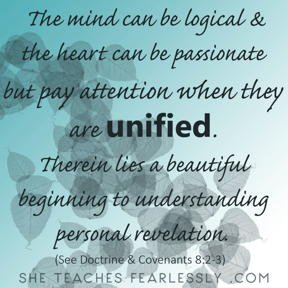 Mind and Heart Personal Revelation