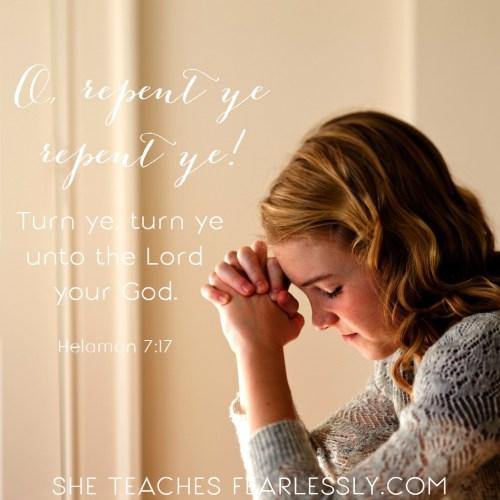 Repentance includes true conversion.