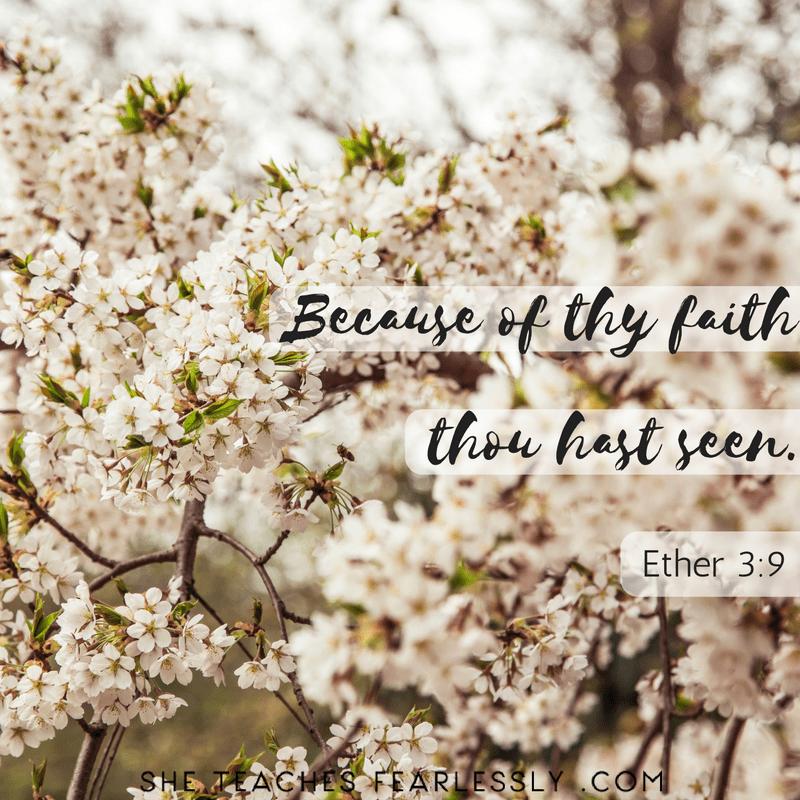 Because Of Thy Faith