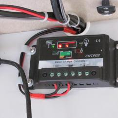 Solar Controller Wiring Diagram Panel Charge Anonymerfo Light Car Controllers In Parallel For Two
