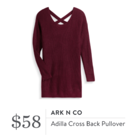 Stitch Fix Review Ark N Co Sweater