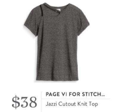 Stitch Fix Review Page VI Tee