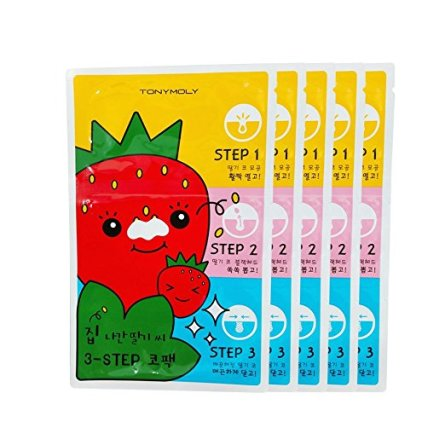 Best Pore Strips: TonyMoly 3 Step Nose Strips