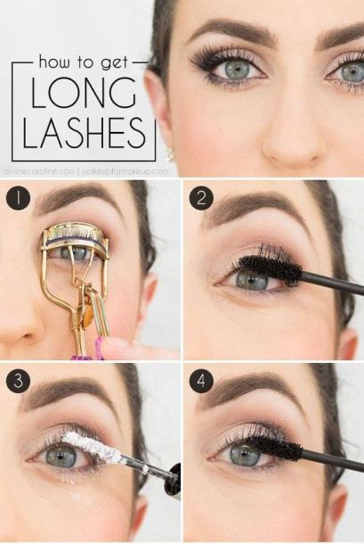 Makeup Tips: Baby Powder for Longer Lashes