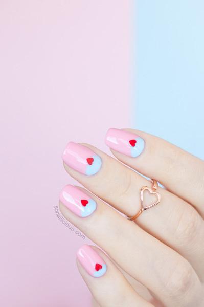 29 Pink And Red Nail Designs Perfect For Valentines Day She Tried