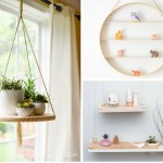 22 DIY Hanging Shelves To Maximize Storage in a Tiny Space