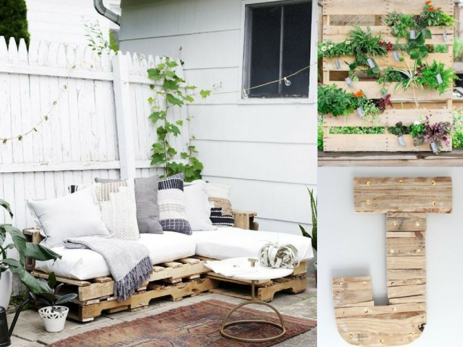 Over 30 DIY pallet projects for furniture, farmhouse decor, gardening and more