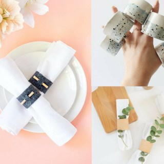 25 How To Make Napkin Rings Tutorials To Wow Your Guests