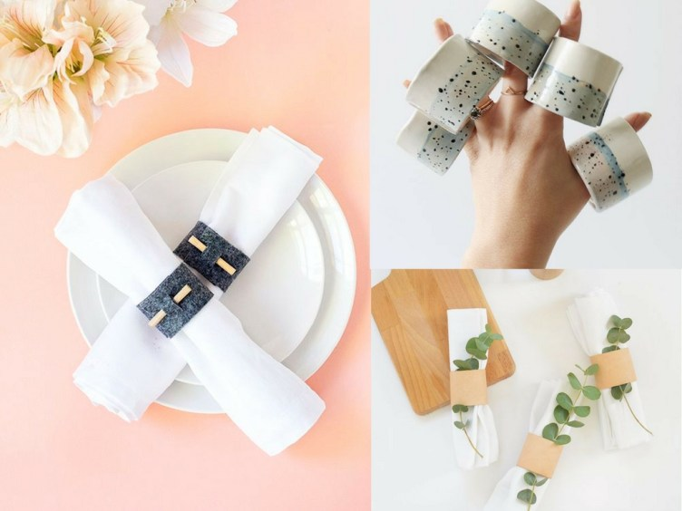 25 how to make napkin rings tutorials to wow your guests she tried how to make napkin rings for everyday use diy copper napkin rings solutioingenieria Choice Image