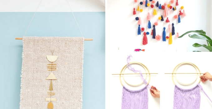 11 Easy DIY Wall Hanging Ideas for Your Boho Home