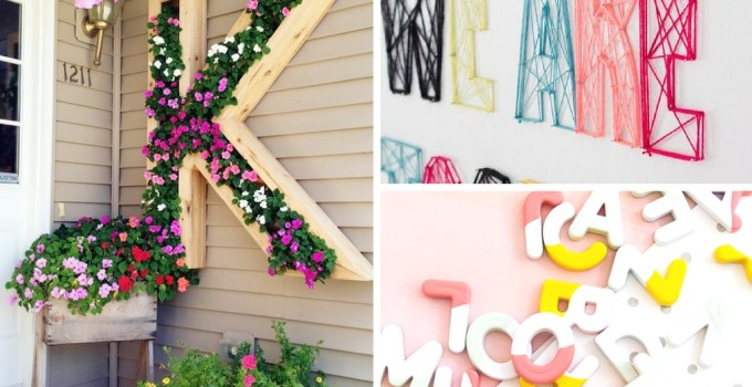 17 Best DIY Monogram Projects You'll Regret Missing