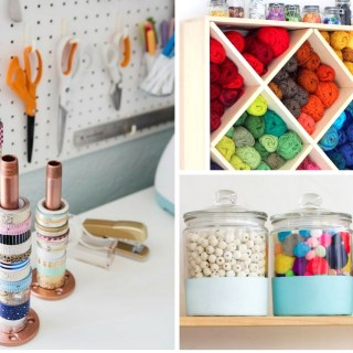 19 Craft Room Organization Hacks You Need to See