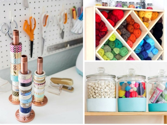 19 Craft Room Organization Hacks to Makeover Your Space