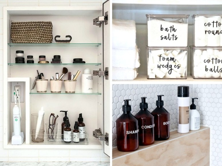 23 Small Bathroom Organization Hacks to Save on Space