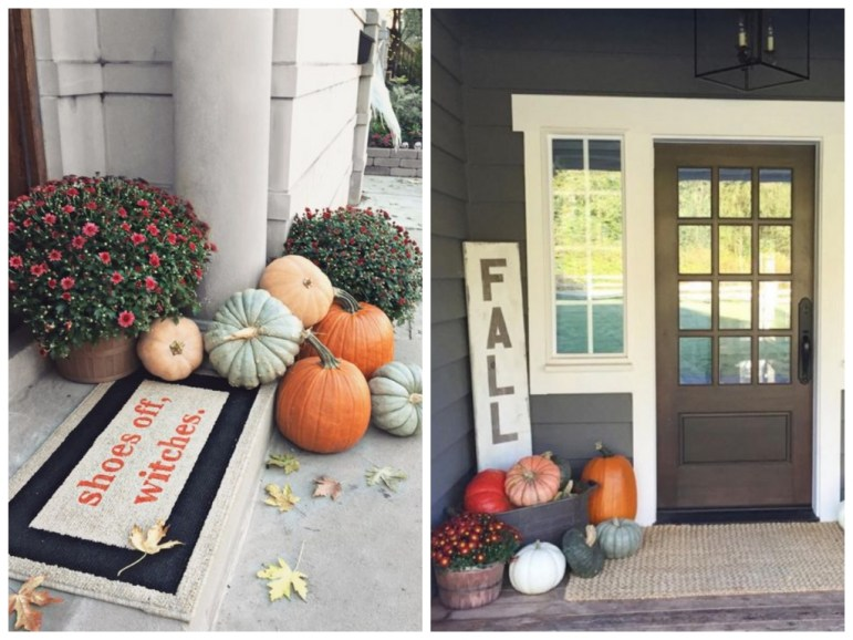 21 Fall Porch Decor Ideas That Are Cheap & Easy to Copy