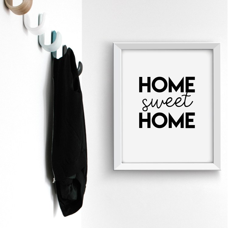 Home Sweet Home Free Printable