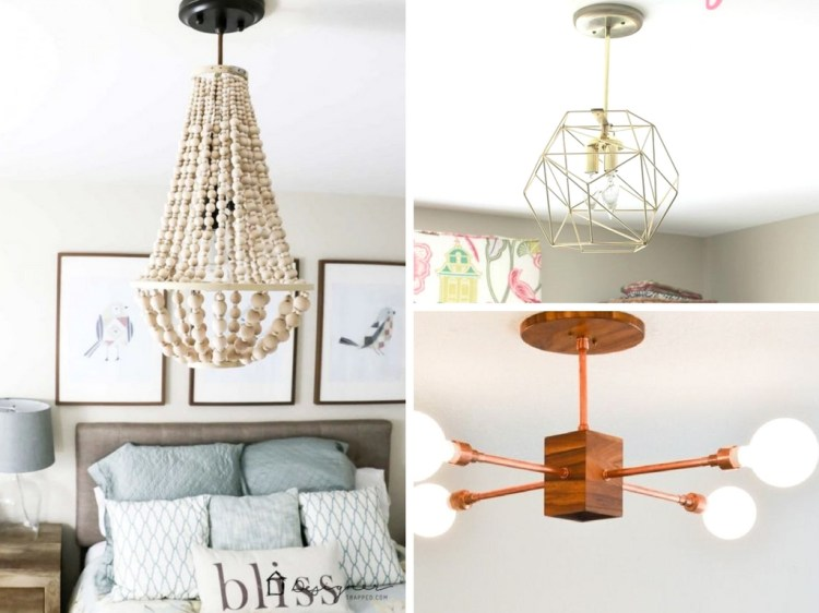 12 DIY Chandeliers and Hanging Light Fixtures to Upgrade Your Space