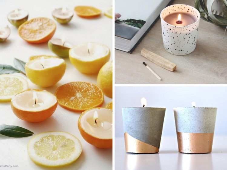 19 DIY Candles To Brighten Up Your Interior