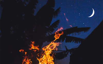 New Moon in Aries: Taking Action and Harnessing the Courage to set our Passions on Fire