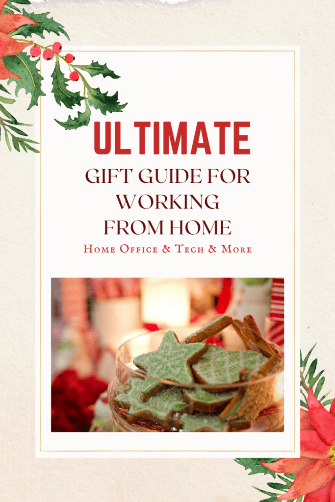 If you are looking for a gift guide for your loved one working from home, start here!