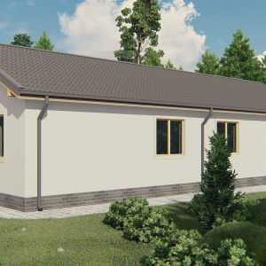 Строительство каркасного дома по проекту Де-мойн K004