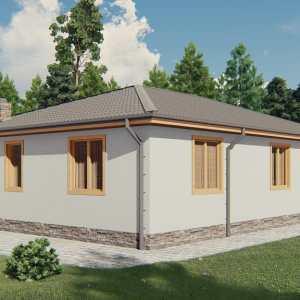 Строительство каркасного дома по проекту Восточная Каролина K023
