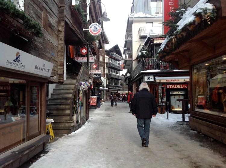 Walk around Zermatt