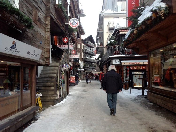 Walk around Zermatt