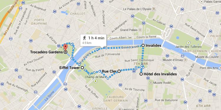 Paris Map 2
