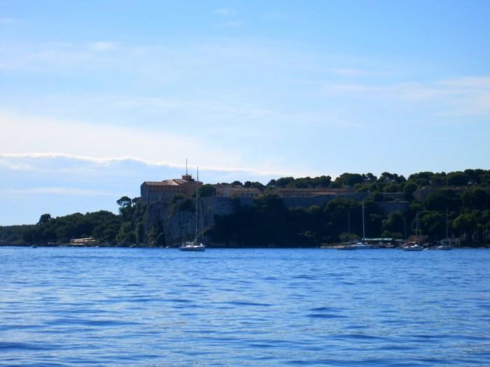Boat Ride to Sainte Marguerite Island