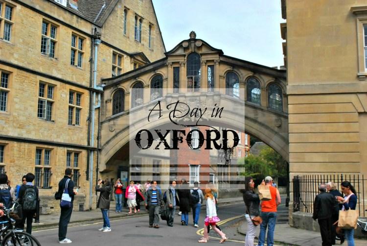 A Day in Oxford - www.shewalkstheworld.com