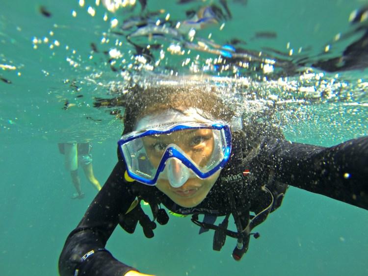 Scuba Diving in Phuket/Phi Phi - www.shewalkstheworld.com