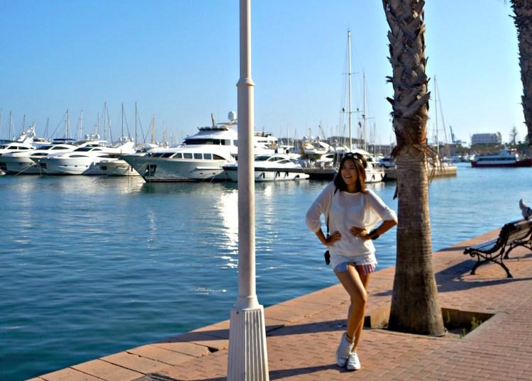 Alicante Port - Alicante in One Day - www.shewalkstheworld.com