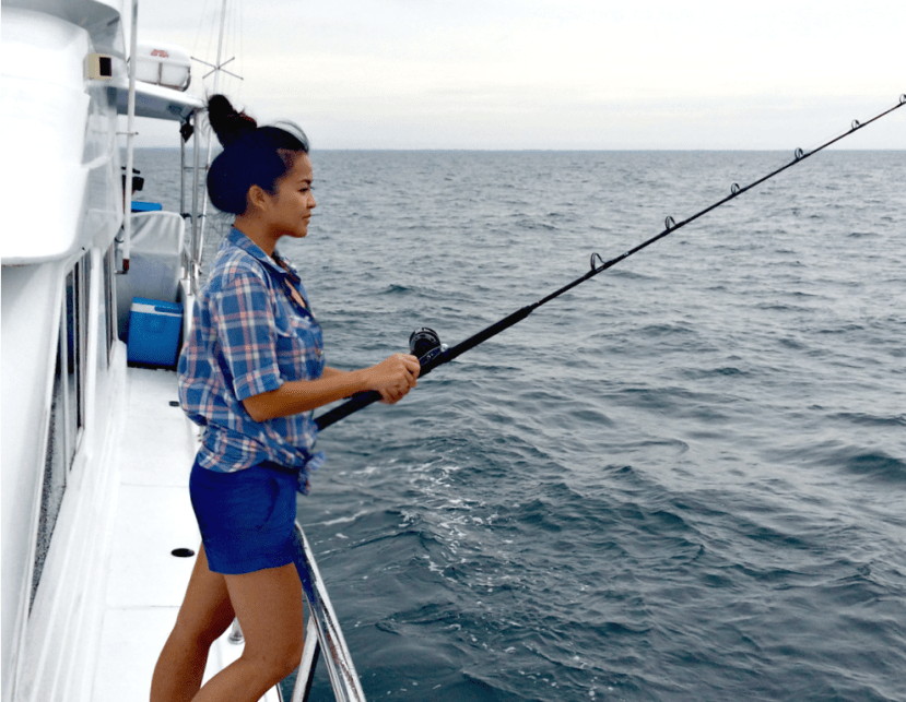 Sailfishing with Sea Urchin.
