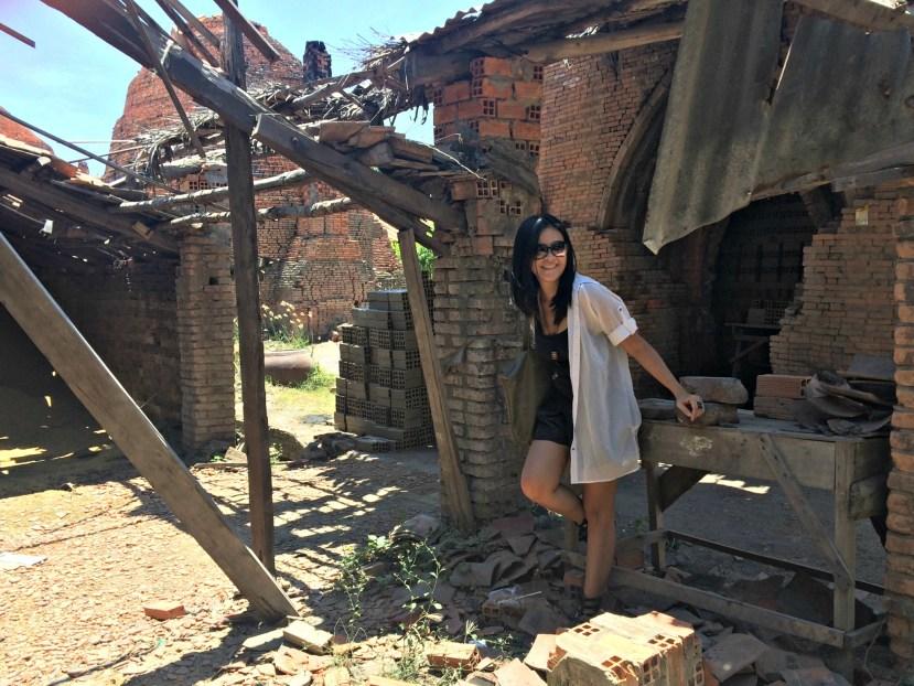 Mekong River - Brick Factory