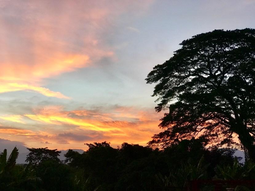 Sunset in Kuala Kangsar