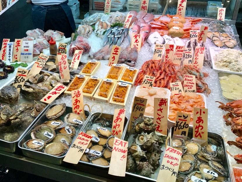 Nishiki Fish Market