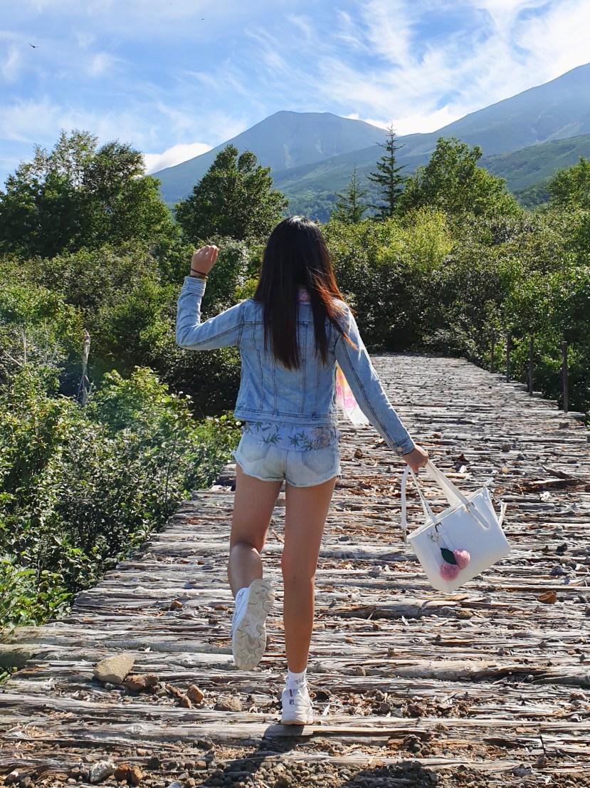 The Mountains of Biei