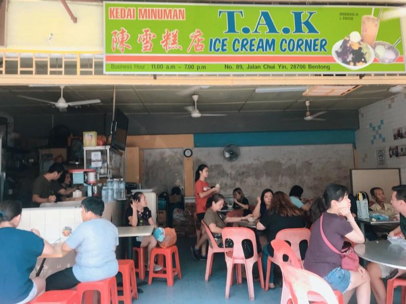 TAK Ice Cream Corner