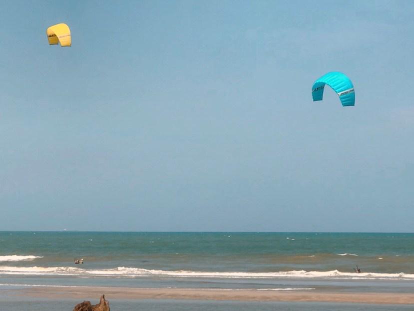 Kitesurfing Balok