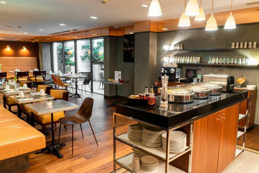Breakfast room in Hotel Paris Bastille Boutet